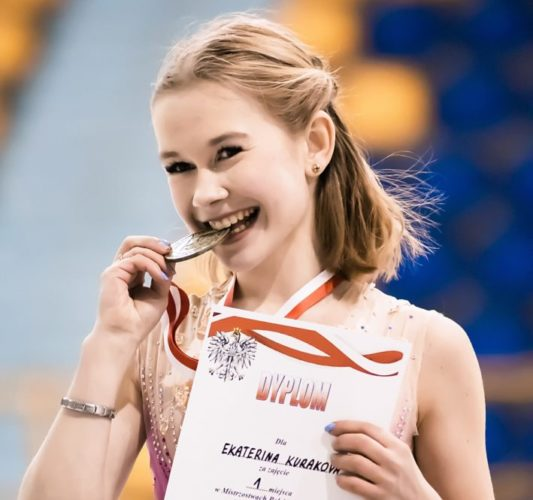 Katia defends the Polish Junior Champion title